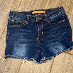 Girls Joe's denim cutoff shorts